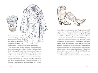 Pages from A Life in Frocks: a memoir