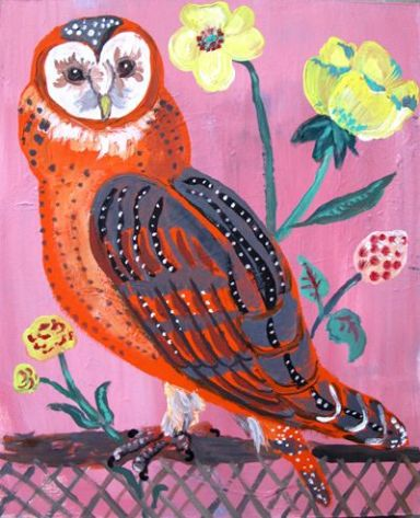 Wise owl by Nathalie Lete