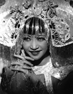 Inspiration for one of the historical chapters in Precious Things: Anna May Wong in the 1930s